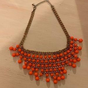 Jewelry - Bold and unique orange necklace